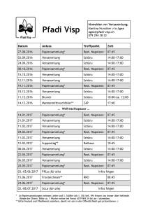 Datenplan Teilnehmer